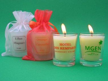 bougies personnalis es pour boutique et mariage bougie parfum. Black Bedroom Furniture Sets. Home Design Ideas